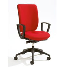 Pop High Back Chair Fixed Arms