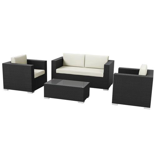 Hampton 4 Piece Sofa Set