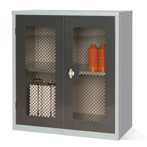 Mesh Door Cupboard with 1 Shelf - 1000x915x457mm