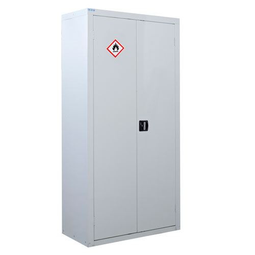 White Flammable Material Cupboard 1800x900x460mm