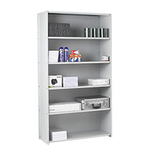 Steel shelving starter bay