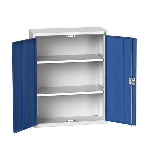 Bott Verso Metal Storage Cupboard 2 Shelves - 1000x800mm