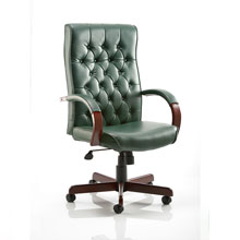Chesterfield Executive Chair Green