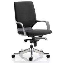 Peregrine Fabric Office Chair Black Shell Black Fabric