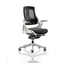Zure High Back Mesh Office Chair Charcoal