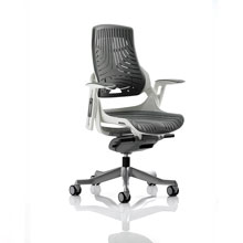 Zure Executive Chair Elastomer Grey