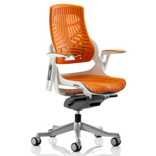 Zure Executive Chair Elastomer Orange