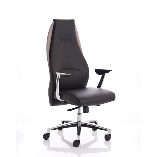 Ossian Executive High Back Leather Office Chair