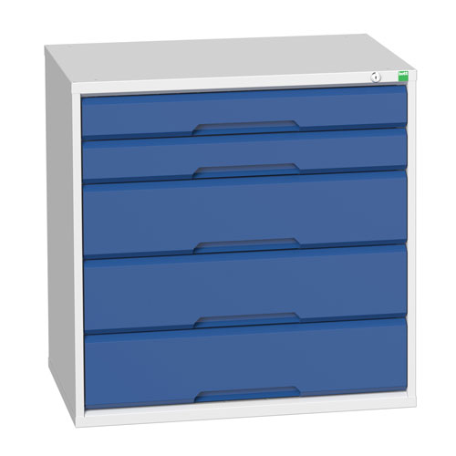 Bott Verso Multi Drawer Cabinets For Tool Storage HxWxD 800x800x550mm