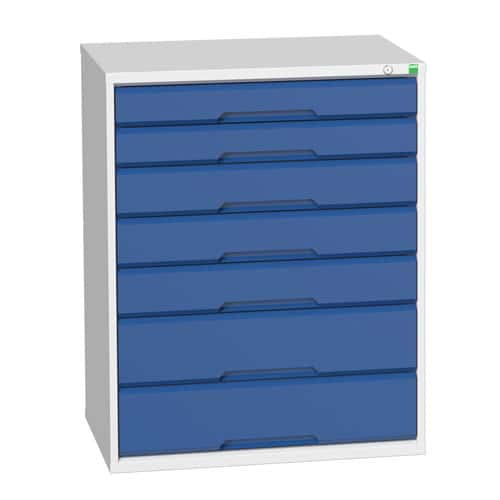 Bott Verso Multi Drawer Cabinets For Tool Storage HxWxD 1000x800x550mm