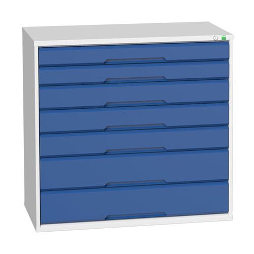 Bott Verso Multi Drawer Tool Storage Cabinets HxWxD 1000x1050x550mm