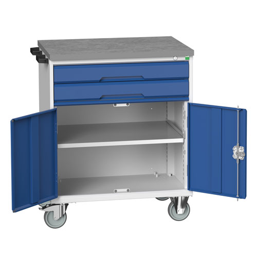 Bott Verso 2 Drawer Mobile Combination Tool Storage Cabinet 980x800mm