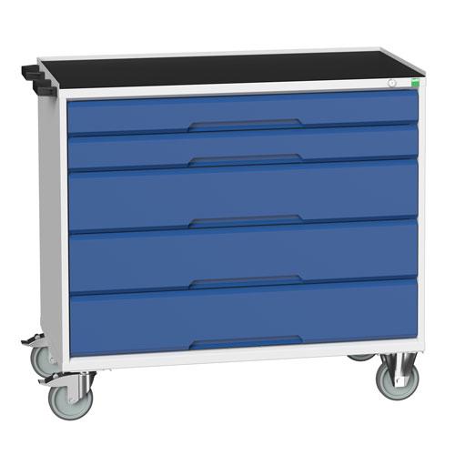 Bott Verso Multi Drawer Mobile Tool Storage Cabinet 965x1050x550mm