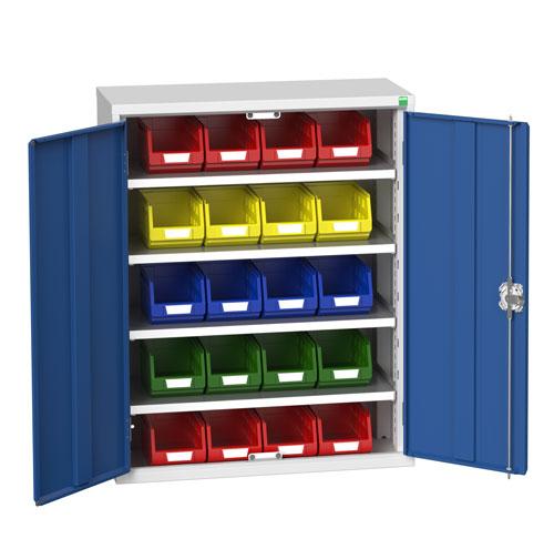 Bott Verso Workshop Storage Cabinet With 20 Bins HxW 1000x800mm