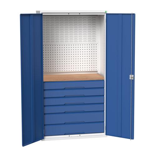 Bott Verso 6 Multi Drawer Mini Workshop Cupboard HxW 2000x1050mm