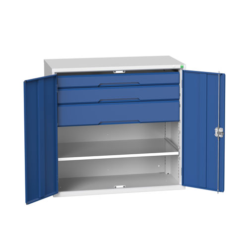 Bott Verso Multi Drawer/Shelves Kitted Metal Cabinet HxW 1000x1050mm