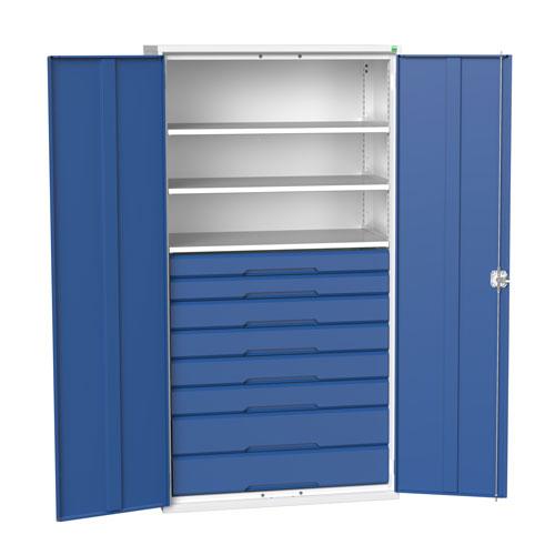 Bott Verso Multi Drawer/Shelves Kitted Metal Cabinet HxW 2000x1050mm