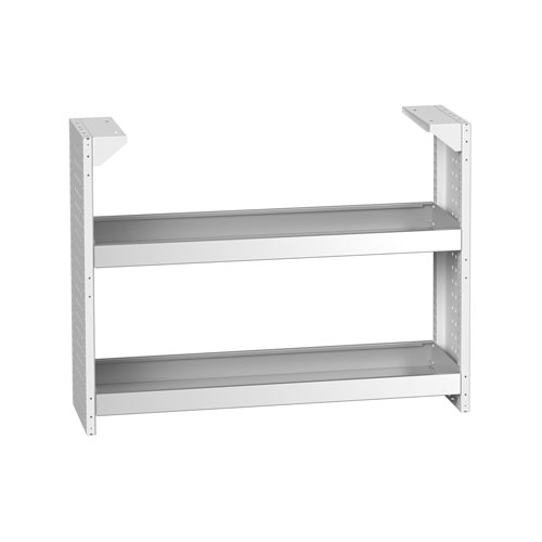 Bott Cubio Static Rack For Wall Workshop Cupboards