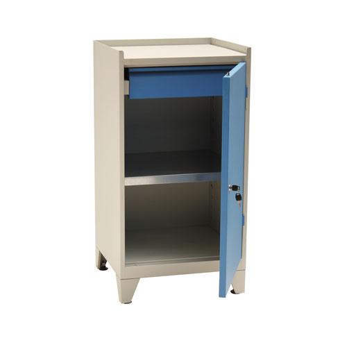 Manutan Single Drawer & Shelf Cupboard - 1020x533x500mm
