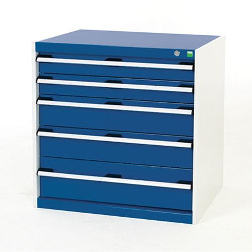 Bott Cubio Multi Drawer Cabinets For Tool Storage HxWxD 800x800x525mm