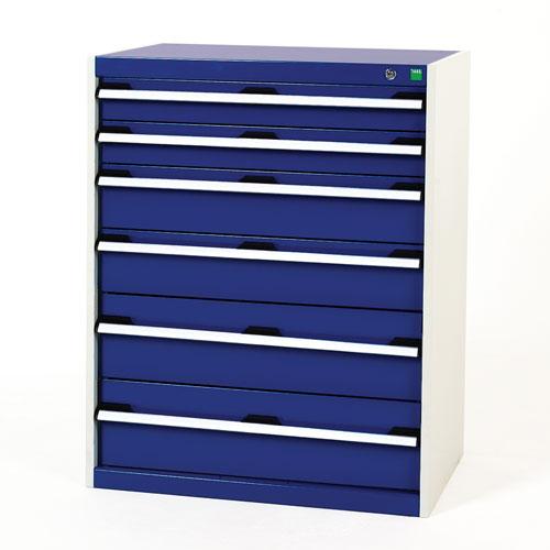 Bott Cubio Multi Drawer Cabinets For Tool Storage HxWxD 1000x800x525mm