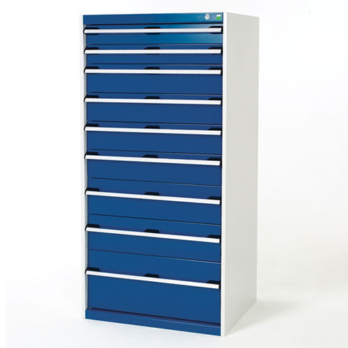 Bott Cubio Multi Drawer Cabinets For Tool Storage HxWxD 1600x800x525mm