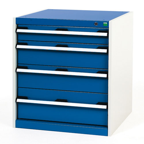 Bott Cubio Multi Drawer Cabinets For Tool Storage HxWxD 700x650x650mm