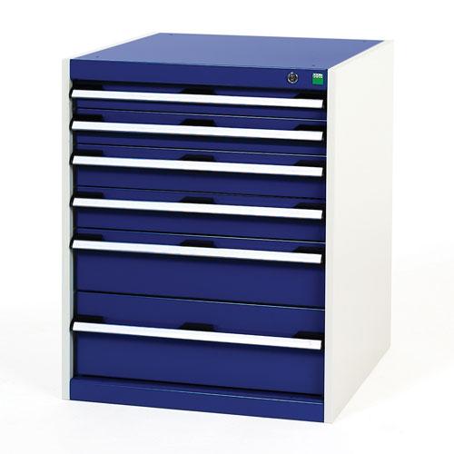 Bott Cubio Multi Drawer Cabinets For Tool Storage HxWxD 800x650x650mm