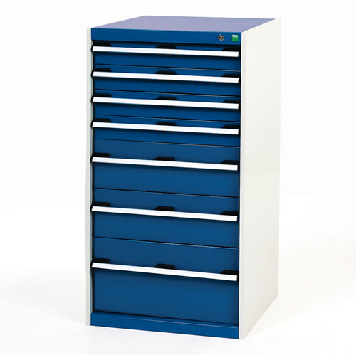 Bott Cubio Multi Drawer Cabinets For Tool Storage HxWxD 1200x650x650mm