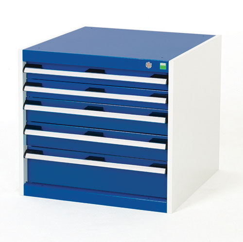 Bott Cubio Multi Drawer Cabinets For Tool Storage HxWxD 650x650x650mm