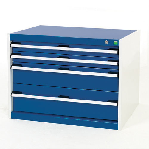 Bott Cubio Multi Drawer Cabinets For Tool Storage HxWxD 600x800x650mm