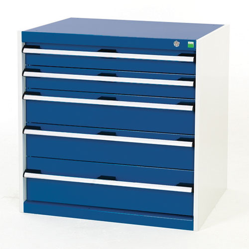 Bott Cubio Multi Drawer Cabinets For Tool Storage HxWxD 800x800x650mm