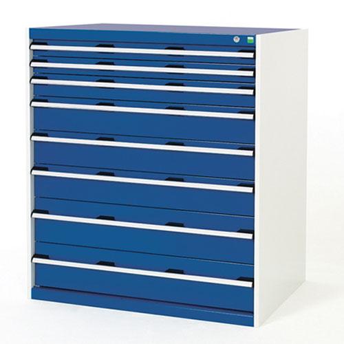 Bott Cubio Multi Drawer Tool Storage Cabinets HxWxD 1200x1050x650mm