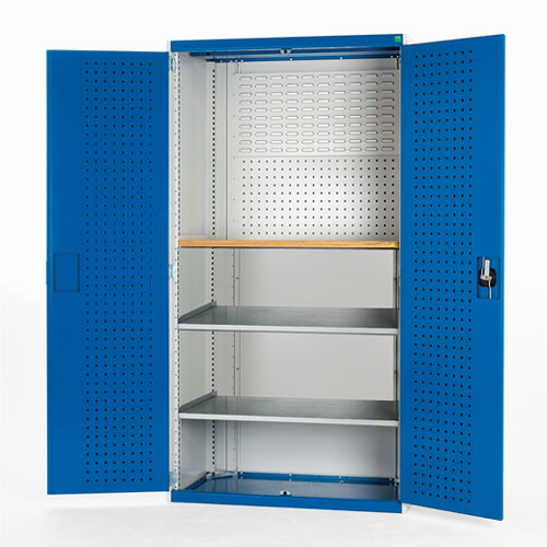 Bott Cubio 2 Shelf Mini Workshop Heavy Duty Metal Cabinet 2000x1300x650mm