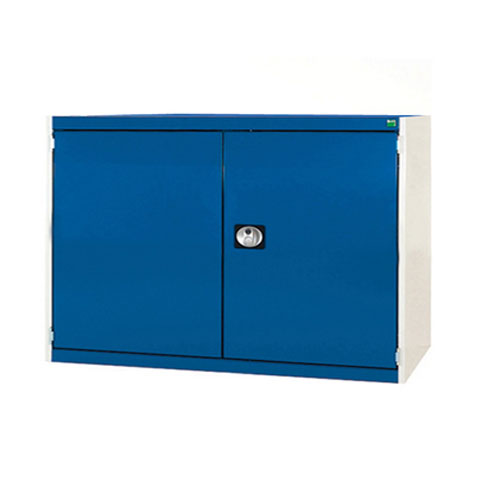 Bott Cubio Heavy Duty Cupboard With 2 Perfo Storage Doors 900x1300x650mm