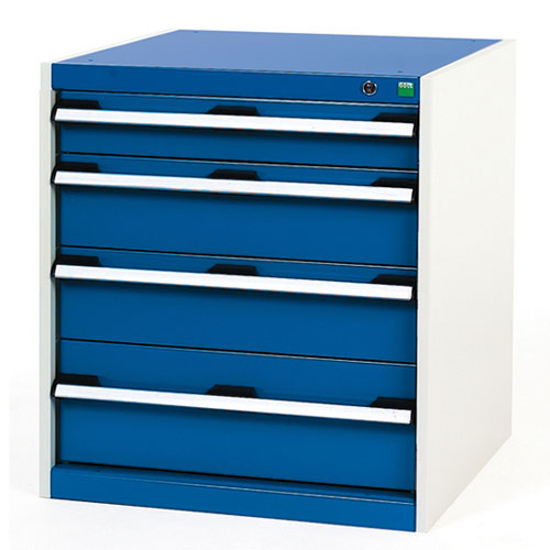 Bott Cubio Multi Drawer Cabinets For Tool Storage HxWxD 700x650x750mm