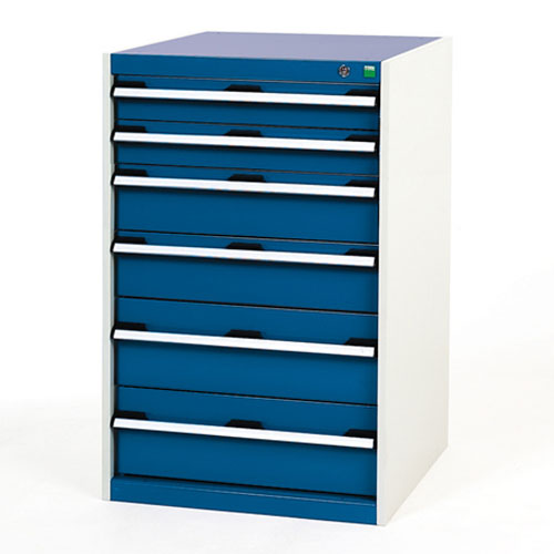 Bott Cubio Multi Drawer Cabinets For Tool Storage HxWxD 1000x650x750mm