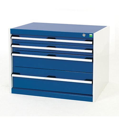 Bott Cubio Multi Drawer Cabinets For Tool Storage HxWxD 600x800x750mm