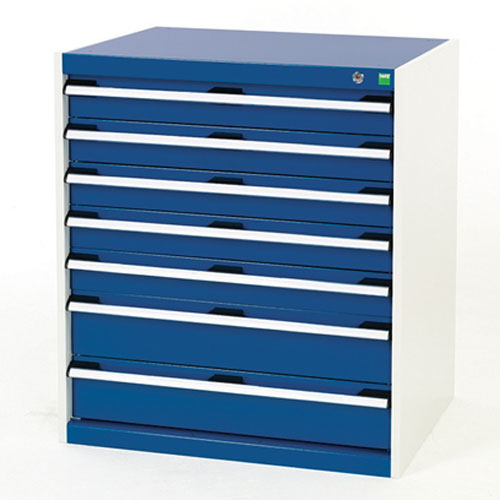 Bott Cubio Multi Drawer Cabinets For Tool Storage HxWxD 900x800x750mm