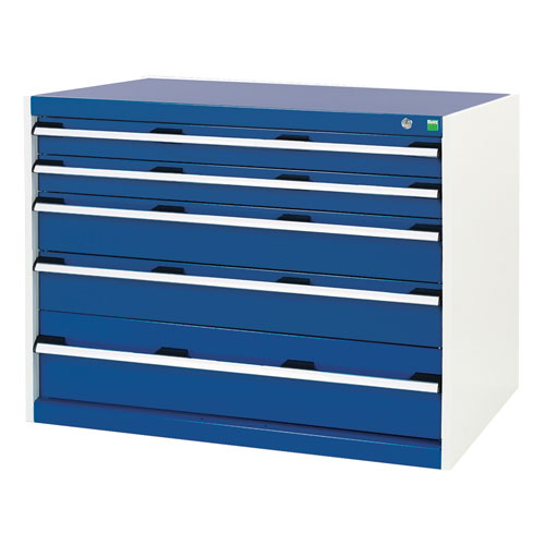 Bott Cubio Multi Drawer Cabinets For Tool Storage HxWxD 800x1050x750mm