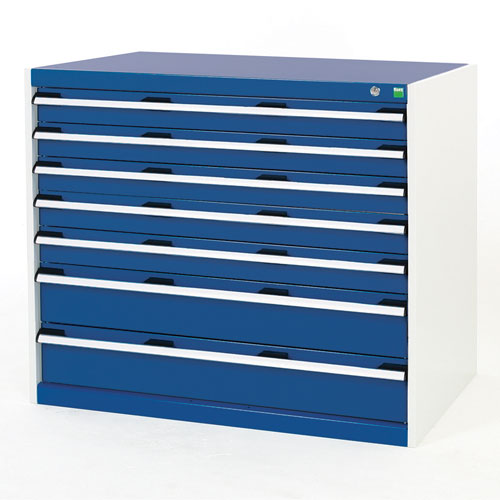Bott Cubio Multi Drawer Cabinets For Tool Storage HxWxD 900x1050x750mm