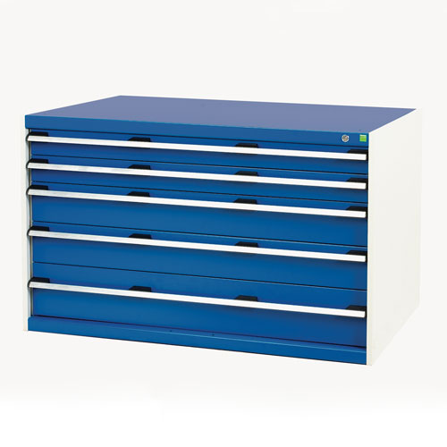 Bott Cubio Multi Drawer Cabinets For Tool Storage HxWxD 800x1300x750mm