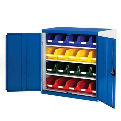 Bott Cubio Workshop Storage Cabinet With 20 Bins HxW 1000x1050mm