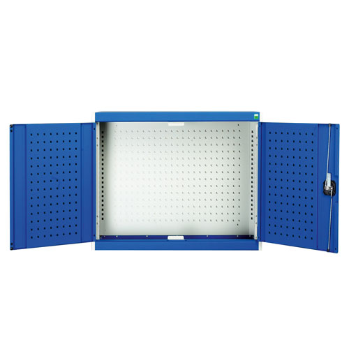 Bott Cubio Perfo Doors And 20 Hook Storage Kit Wall Cupboard 700x800x325mm