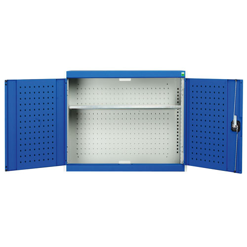 Bott Cubio Single Shelf Perfo Storage Wall Cupboard HxWxD 1000x1050x325mm