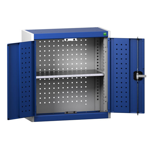 Bott Cubio Perfo Tool Storage Wall Cabinet With 2 Doors 700x650x325mm