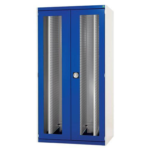 Bott Cubio Vision Door And 4 Louvre Sliding Panels Cabinet WxD 1050x650mm