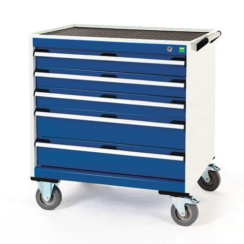 Bott Cubio Multi Drawer Mobile Tool Storage Cabinet 890x800x650mm