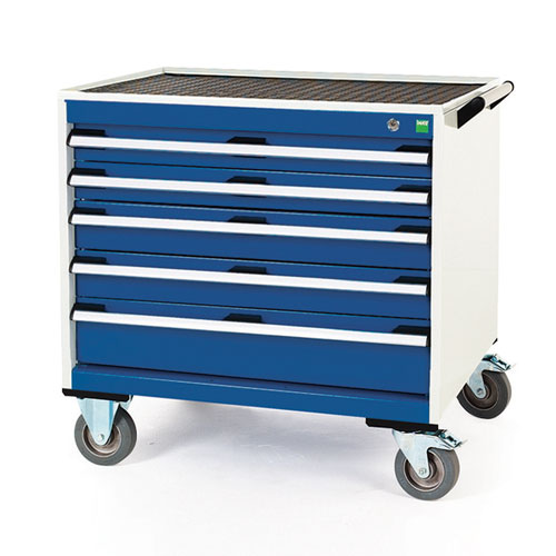Bott Cubio Multi Drawer Mobile Tool Storage Cabinet 790x800x650mm