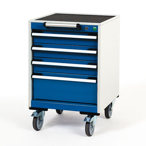Bott Cubio Multi Drawer Mobile Tool Storage Cabinet 790x525x525mm